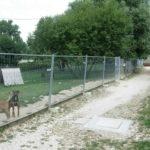 Ancien parc à chiens à Chalezeule